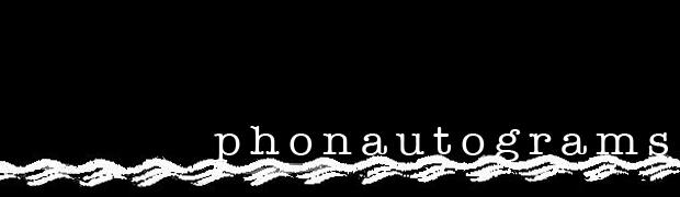 Phonautograms